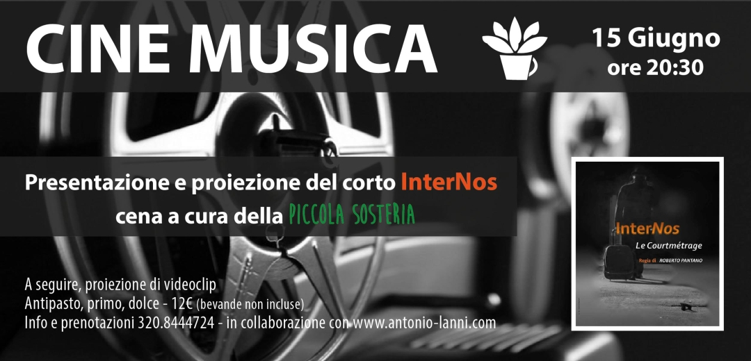 PosterCenaCineMusicaCassino